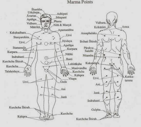 marmas-points